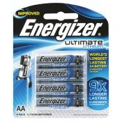 Energizer AA Ultimate Lithium Battery Pk-4