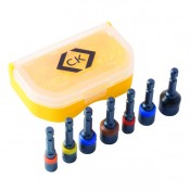 CK Tools T4514 Magnetic Nut Driver Set 7pc