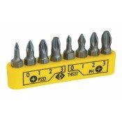 CK Tools T4522 Screwdriver Bit Set PZ/PH 8pc