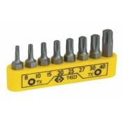 CK Tools T4523 Screwdriver Bit Set Torx 8pc