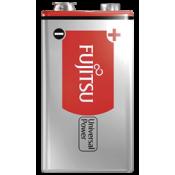Fujitsu Universal Power 9V Alkaline Battery Shrink