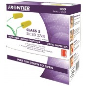 Frontier Disposable Ear Plugs Corded Class 5 - Box 100 Pairs