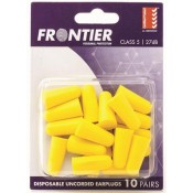 Frontier Disposable Ear Plugs Uncorded Class 5 - Pack of 10 Pairs
