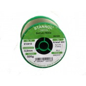 Stannol SN100C Crystal 400 Lead Free Solder Wire 0.8mm 500gm