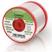 Stannol 60/40 Crystal 400 Solder Wire 1.0mm 500gm REL0