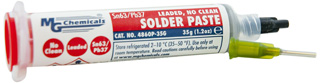 4860P-35G MG Chemicals No Clean Solder Paste 63/37 35g