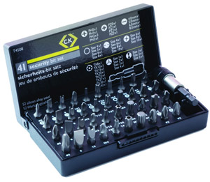 CK T4508 41pc screwdriver bit set