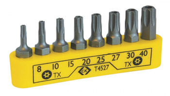 CK T4527 security torx bit set
