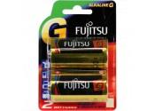 Fujitsu G C Size Alkaline Battery 2pk Blister