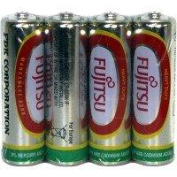 Fujitsu AA Size Heavy Duty Battery 4pk Shrink
