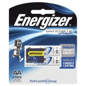 Energizer AA Ultimate Lithium Battery Pk-2