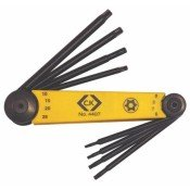 CK Tools T4407 Torx Tamperproof Key Folding Set - 8 Pce