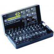 CK Tools T4508 Screwdriver Security Bit Set 41pc