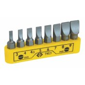 CK Tools T4521 Screwdriver Bit Set Slotted 8pc