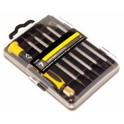 CK Tools Precision Screwdriver Set - Slotted/PH/TX