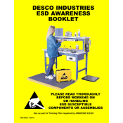 Desco 06821 ESD Awareness Booklet