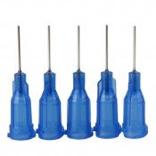Dispensing Tip Stainless Steel 22G Blue - Pack-25