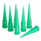 Dispensing Tip Tapered Plastic 18G Green - Pack-100