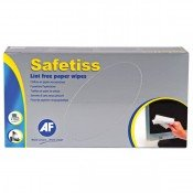 AF STI200 Safetiss Lint Free Tissue Wipes Box-200