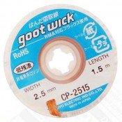 Goot CP-2515 Desolder Wick 2.5mm x 1.5m