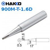 Hakko 900M-T-1.6D 1.6mm Chisel Soldering Tip