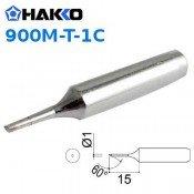 Hakko 900M-T-1C 1mm Bevel Soldering Tip