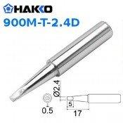 Hakko 900M-T-2.4D 2.4mm Chisel Soldering Tip