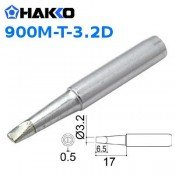 Hakko 900M-T-3.2D 3.2mm Chisel Soldering Tip