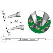 JBC C120-011 Cartridge Tip Bent Chisel 0.6mm