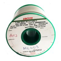 Multicore/Loctite MC603 Solderwire 96SC Crystal 502 0.71mm 500gm