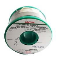 Multicore/Loctite MC722 Solderwire 96SC Crystal 502 0.56mm 250gm
