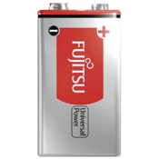 Fujitsu Universal Power 9V Alkaline Battery Shrink
