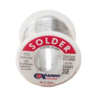 Asahi 2% Silver FC-5000 0.25mm Solder Wire 200gm