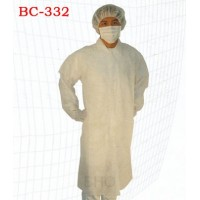 Disposable Non-Woven Lab Coat - Large