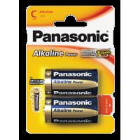 Panasonic C Size Alkaline Battery 2pk