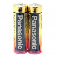 Panasonic AA Size Industrial Alkaline Battery 2pk Shrink