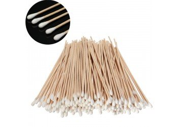 "Cotton Bud Cleaning Swabs 6"" - Pk-100"