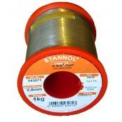 Stannol 63/37 HS10 Solder Wire 0.8mm 1kg