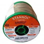 Stannol Sn99.3/Cu0.7 Crystal 511 Lead Free Solderwire 0.5mm 500gm